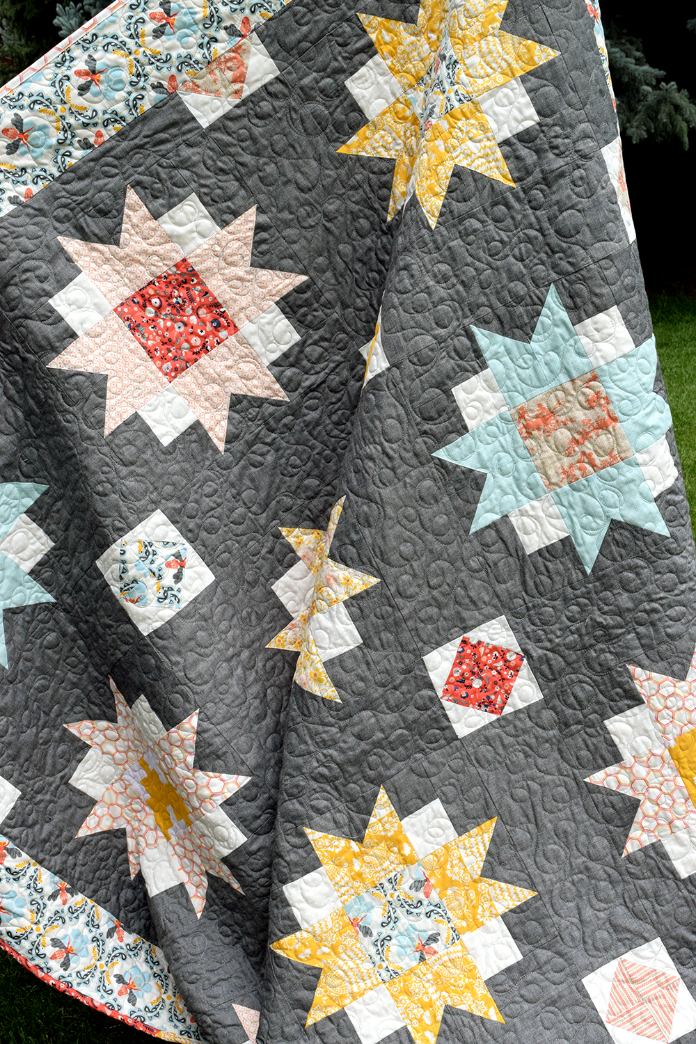Moon Blossoms Quilt Pattern